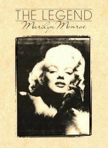 Postcard 1986, The Legend Marilyn Monroe by Athena International 48V