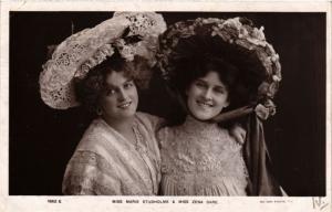 CPA Maria Studholme and Zena Dare THEATER STARS (778168)