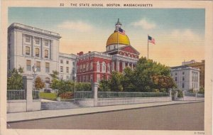 The State House Boston Massachusetts