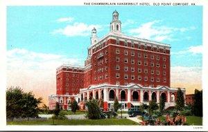 Virginia Old Point Comfort The Chamberlin Vanderbilt Hotel 1932 Curteich