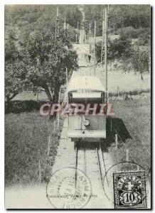Modern Postcard Der Funicular Vevey Chardonne Mont Pelerin