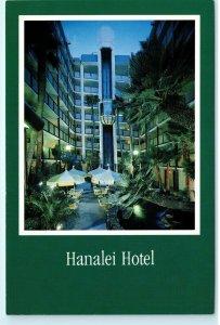 Hanalei Hotel 2270 Hotel Circle North San Diego CA Vintage 4x6 Postcard D77