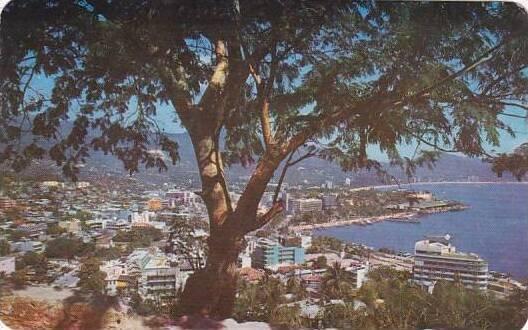Mexico Acapulco Panoramic View