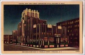 CYN Power Corp, Erie Boulevard, Syracuse NY