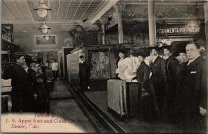 Denver CO Inside Appel Suit & Cloak Clothing Store~Garments That Fit & Wear~1910