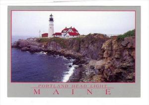LIGHTHOUSE, Portland Head, Maine, 50-70s