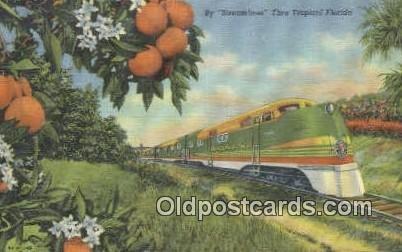 Streamliner, Florida, FL USA Trains, Railroads Unused