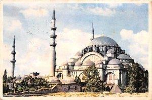 Suleymaniye Mosque Istanbul Turkey 1959