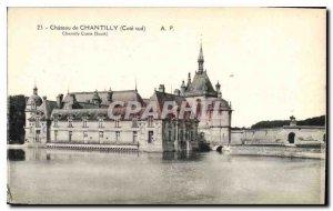 Old Postcard Chateau de Chantilly South coast