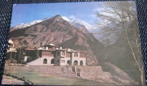 Pakistan Snow Clad Raka Poshi Peak Hunza State Palace of Mir - posted