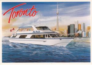 ADV. Entertainment Boat MV MISS TORONTO , Toronto , Ontario , Canada , 50-70s