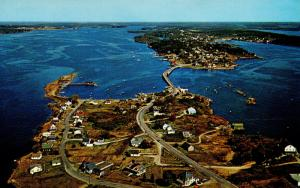 ME - Bailey's Island and Orr's Island. Aerial View