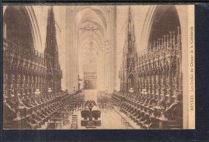 Les Stalles du Choeur de la Cathedrale,Antwerp,Belgium BIN