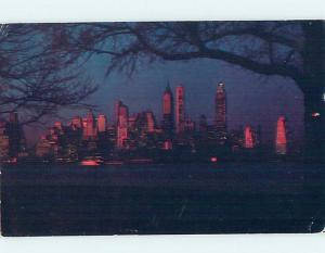 Pre-1980 MANHATTAN FROM GOVERNORS ISLAND New York City NY hp4341