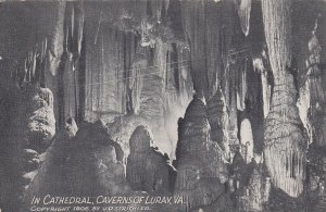 LURAY, Virginia, 1900-1910's; In Cathedral, Caverns Of Luray