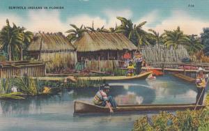 FLORIDA, 30-40s; Seminole Indians in Florida