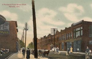 PETROLIA , Ontario , 1900-10s ; Front Street , West