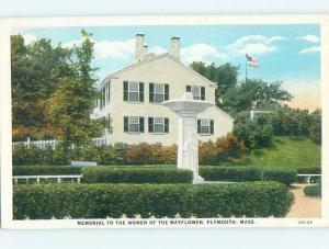 W-Border MONUMENT Plymouth Massachusetts MA HJ8003
