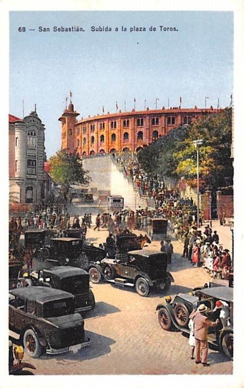Subida a la plaza de Toros San Sebastian Spain Unused