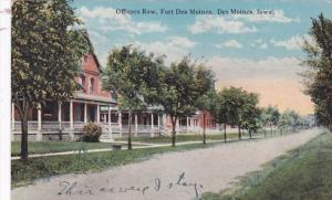 Iowa Des Moines Officers Row Fort Des Moines Curteich