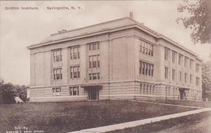 New York Springville Griffith Institute Albertype