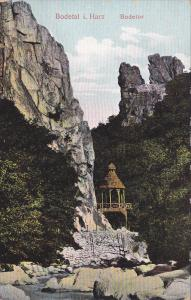 Bodetal i. Harz , Bodetor , Germany  , 00-10s