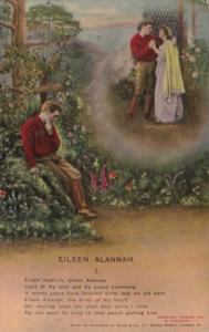 Bamforth Romantic Couple Eileen Alannah No 1