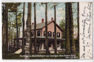 Cottage on Mt McGregor near Saratoga NY
