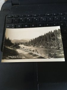 Antique Photo Postcard RPPC-  Rogue River on the Road to Crater Lake