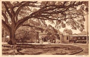 Trinidad British West Indies Country Club Antique Postcard J74305