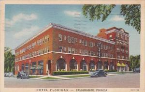 Florida Tallahssee Hotel Floridan 1940