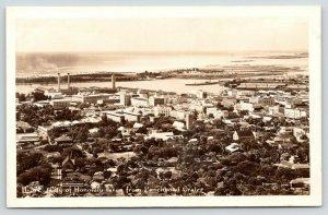 Honolulu HI~RPPC Churches~Neighborhoods~Downtown Shops~Factory Smokestacks~c1928