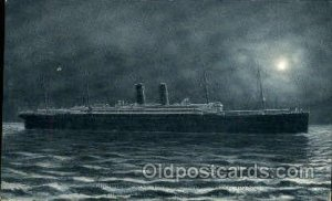 Baltic The Largest Steamship Cunard Line, Ship 1907 very light wear close to ...