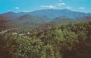 Mt Leconte in Great Smoky Mountains National Park near Gatlinburg TN, Tennessee
