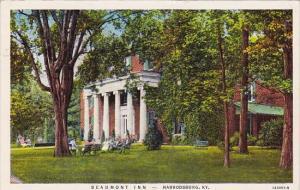 Kentucky Harrodsburg Beaumont Inn 1943