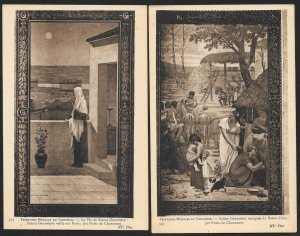 FRANCE 30 cards: Various Art Images from the Pantheon Paris France Unused c1910s