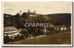 Old Postcard Hrad Krivoklat