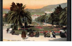 MONTE-CARLO, Monaco, 1900-1910's; Les Parterres