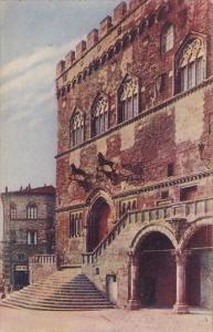 Italy Perugia Particolare del Palazzo Municipale