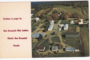 Aerial View, New Brunswick Blible Institute, VICTORIA, New Brunswick, Canada,...
