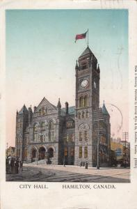 City Hall, HAMILTON, Ontario, Canada, PU-1910