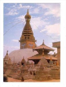 Swoyambhu, The Biggest Stupa In The World, Nepal, Asia, 1950-1970s