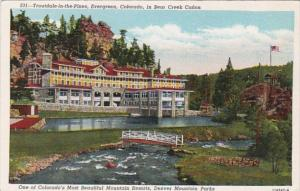 Colorado Evergreen Troutdale-In-The-Pines In Bear Creek Canon