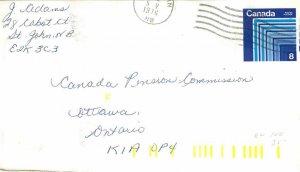 Entier Postal Stationery Postal Canada St John