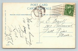 Quebec-Canada, Chateau Frontenac, Vintage c1928 Postcard