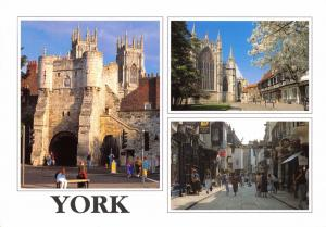 Postcard YORK 3 x Multiview by Newman Publications #Y