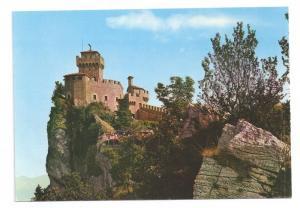 San Marino Tower Torre View 4X6 Postcard