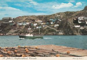 ST. JOHN's , NEWFOUNDLAND , Canada , 50-70s ; Narrows Harbor