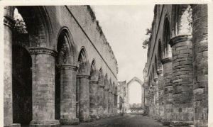 RP; Nave & East Window , Fountains Abbey , UK , 1956 ; TUCK