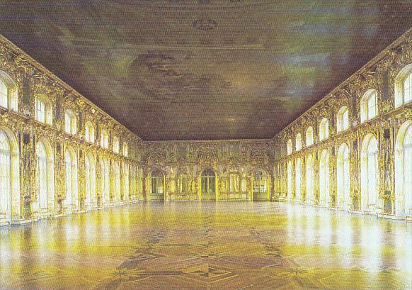 Russia Pushkin The Great Hall The Great Catherine Palace
